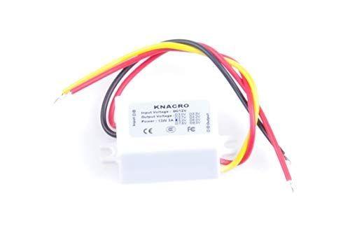 Knacro Dc 12v To 5v 3a Convert 8 22v Step Down To Dc 5v 3a 5v 3a 15w Waterproof Dc Buck Converter Voltage Regulator 8 22v Voltage Regulator Dc 5v Transformers