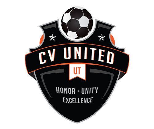 Custom Soccer Logo Design For Cv United Soccer By Jordan Fretz Design Sports Logo Design Basketball Logo Design Sports Team Logos