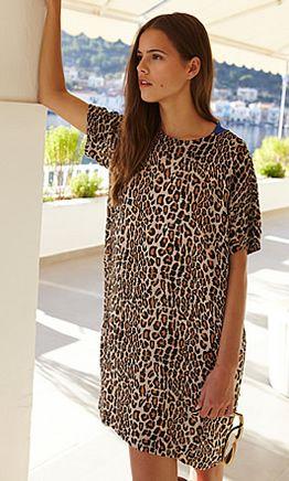 Leopard Print Dress - Plümo Ltd
