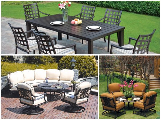 Outdoor furniture collections by Hanamint
