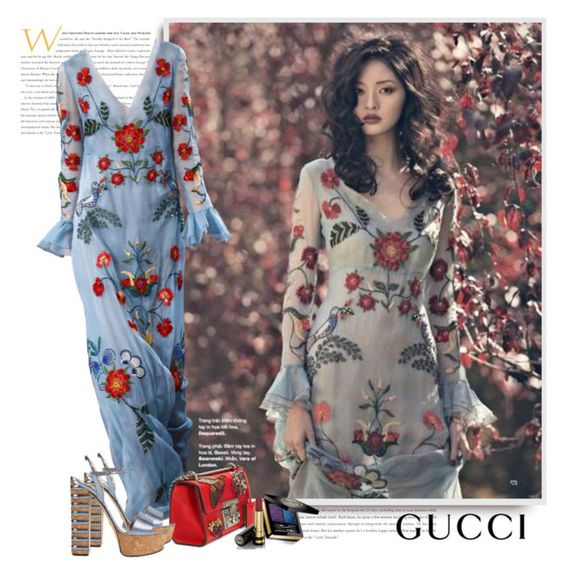 Gucci Resort 2016 by sella103 on Polyvore featuring polyvore fashion style Gucci women's clothing women's fashion women female woman misses juniors