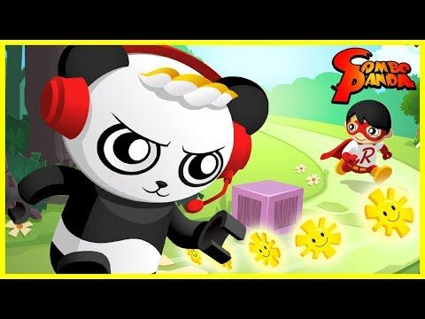 Tag With Ryan Brand New Red Titan Game Let S Play With Combo Panda Youtube Bunny Coloring Pages Panda Coloring Pages Ryan Toys