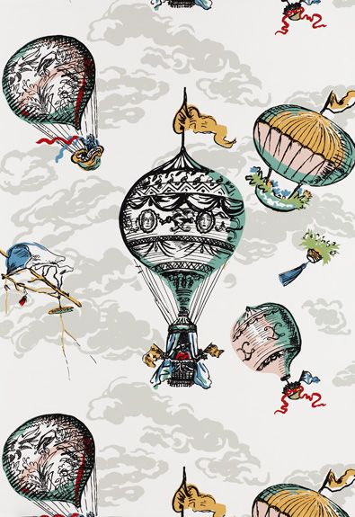"""Balloons Multi Wallcovering SKU - 2704320  Width - 27""""  Horizontal Repeat - 0""""  Vertical Repeat - 28.75""""  Country of Finish - United States of America"""