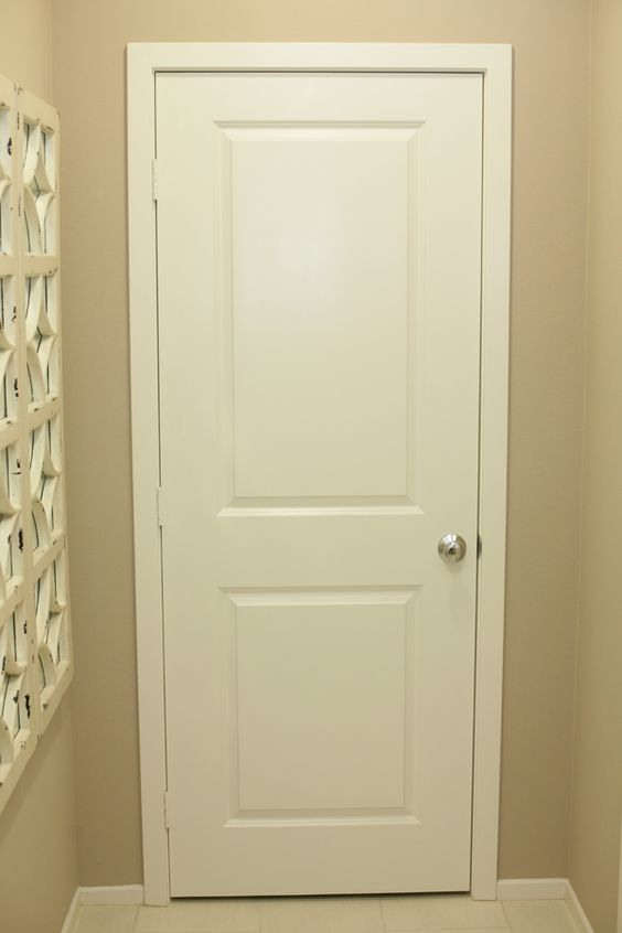 Interior Panel Paint: INTERIOR DOORS WITH CHROME KNOB HARDWARE