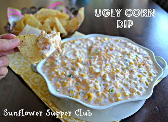 Corn dip, Dips and Sour cream on Pinterest