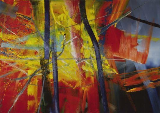 abstraktes bild 567 kunst gerhard richter abstrakte bilder abstrakt malerei gemälde frau