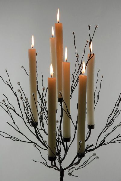 43 metal twig tree candle holder i might need two of for Fedora candle holder