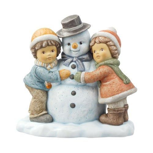 Goebel Nina & Marco - Schöner weißer Winter Wir bauen einen Schneemann 13 cm