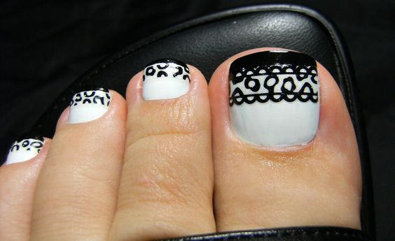 Acrylic toenail tips - Google Search