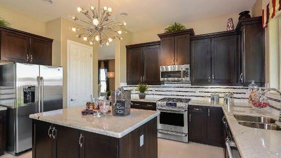 Dark Kitchen Cabinets By Taylor Morrison Kitchens
