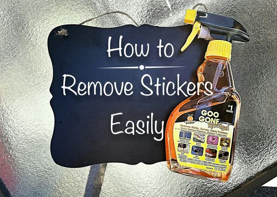 Share Tweet Pin Mail Stickers, stickers, stickers… One thing that really annoys me is those super hard to get off stickers on products you buy at the store ...