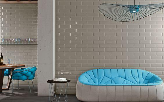 Die Verkleidungs- und Dekorationslinie Adamas interpretiert die Klassik neu, um neue, helle Umgebungen zu schaffen