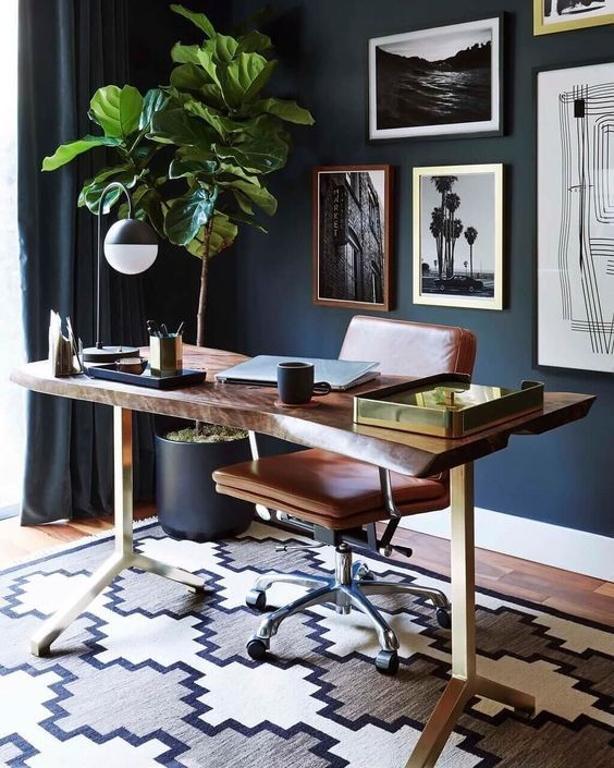 2019 Home Design Trends Gold Room Decor Masculine Home Offices