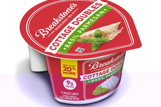 Breakstone S Basil Parmesan Cottage Cheese Is A Cottage Double Next Year Breakstone S And Knudsen Cottage Cheese Packaging Cottage Cheese Cheese