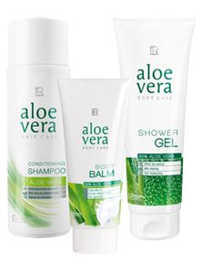 Aloe Vera Hair & Body Set