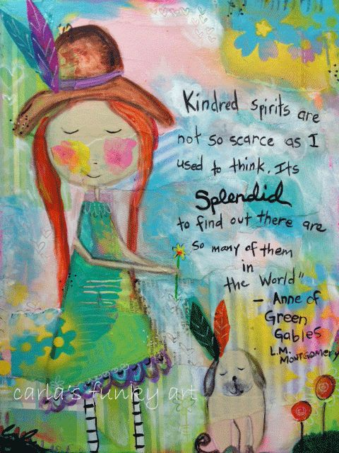 Kindred Spirits…. | Carla's Funky Art