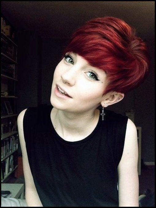 18 Kurze Rote Haarschnitte Kurzes Haar Fur Sommer Und Winter Bob Frisuren Haarschnitt Kurzhaarfrisuren Strubbelig Kurze Rote Haare