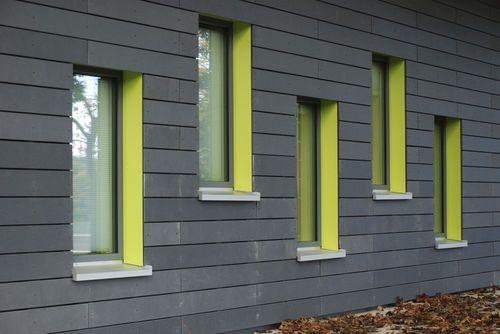 Fiberglass facade cladding :: Rieder Smart Elements
