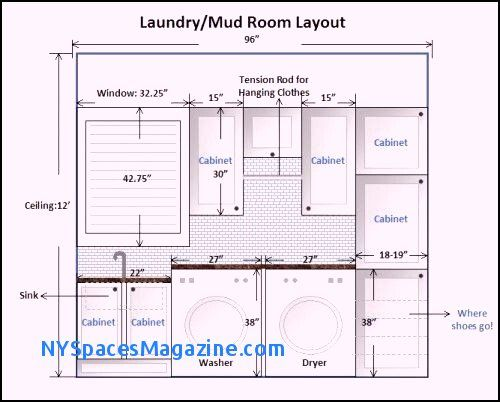 Laundry Mudroom Floor Plans Awesome 15 Best Laundry Dimensions