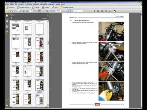 Aprilia Pegaso 650 2005 Workshop Service Repair Manual Youtube Repair Manuals Aprilia Repair