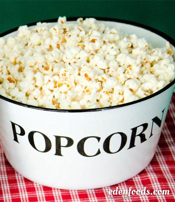 Popcorn with Sea Salt