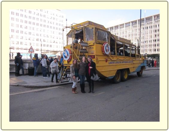 My favourite tourist activity in #London - the #DuckTour! London's amazing amphibious adventure indeed... From my post which I like to call a 'plog': http://thelondonscrapbook.com/2013/03/26/plog-of-london/