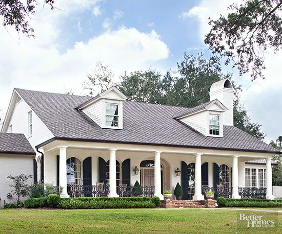 Colonial-Style Home Ideas | House builders, Attic spaces and Historic houses