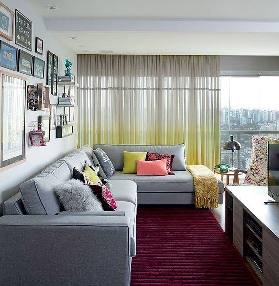 Arquiteta troca espaço de 115 m² por apê pequeno de 44 m². E está amando!: