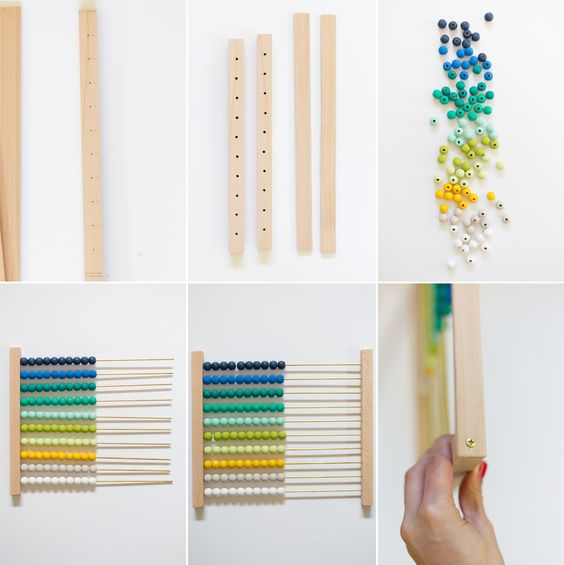 Diy Ombre Abacus Lovely Indeed Diy Kids Toys Diy Ombre Diy For Kids