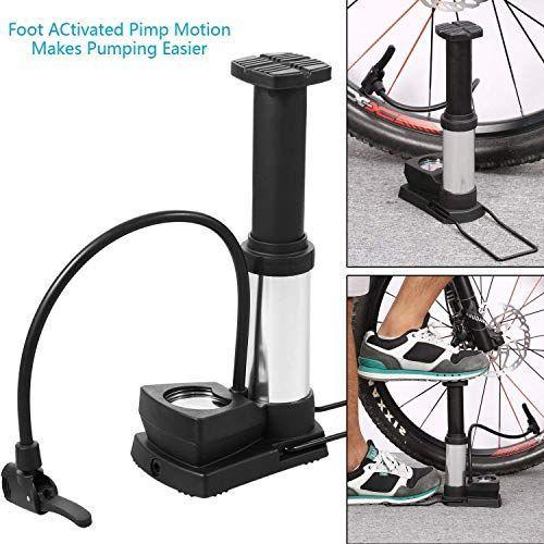 Buy Swastik Mini Bike Pump Foot Activated Floor Pump Air Pump For