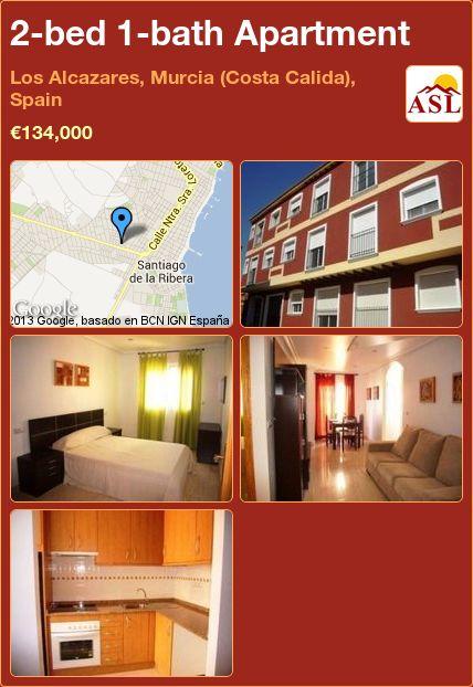 2-bed 1-bath Apartment in Los Alcazares, Murcia (Costa Calida), Spain ►€134,000 #PropertyForSaleInSpain