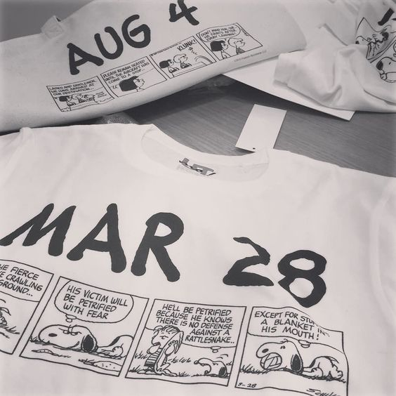 #UNIQLO#UTme#まいにちスヌーピー 日付けを入力するとその日に掲載されていたスヌーピーのコミックとともにプリントすることができるみたいです Webのみのお取り扱いとなります スヌーピーファンにもお誕生日のプレゼントにもきっと特別な贈り物になると思います まいにちスヌーピーで検索してみてくださいね by yoshikotomioka