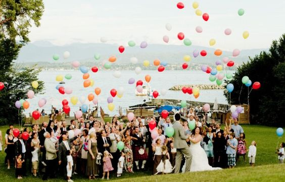 21 Fun Ways to Incorporate Balloons into Your Wedding