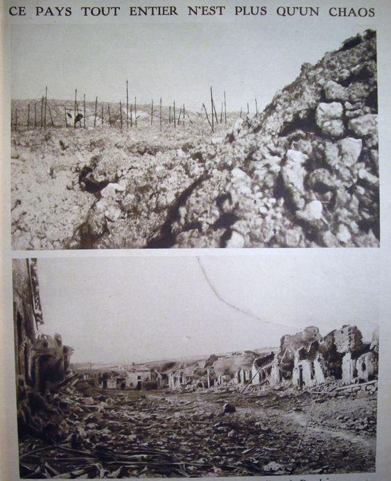 """WW1, Le Mirroir, 1916:"""" This whole country is a chaos.""""- Dossier : la bataille de Verdun (février-décembre 1916) - Académie de Toulouse"""