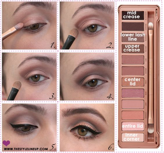 urban decay naked 3 naked 3 tutorial the style lineup makeup pinterest urbain. Black Bedroom Furniture Sets. Home Design Ideas