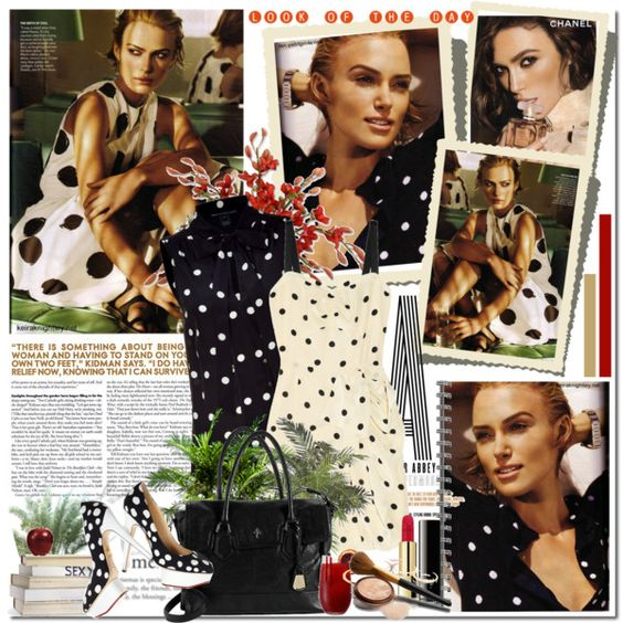 #Polka #Dots featuring Keira Knightley, created by gogush