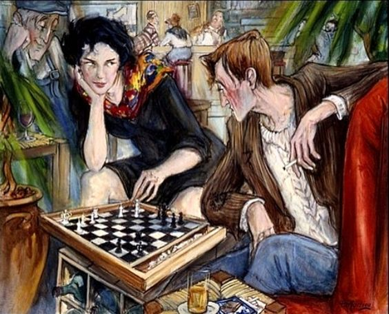 Partarrieu, Mattin-Laurent (b,1946)- Chess Game
