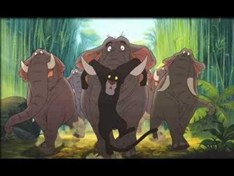 jungle book olifantenmars - YouTube
