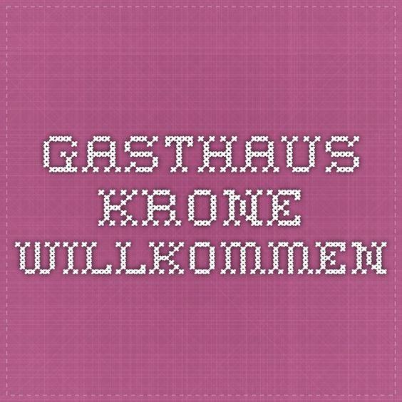 Weil am Rhein: GASTHAUS KRONE Willkommen