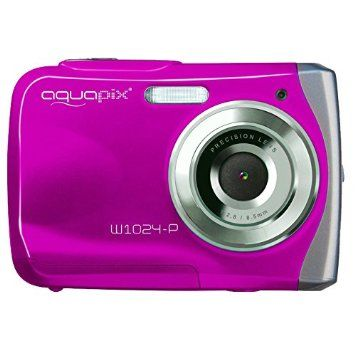Easypix W1024 Splash Digitalkamera (10 Megapixel, 4-fach digitaler Zoom, 6,1 cm…