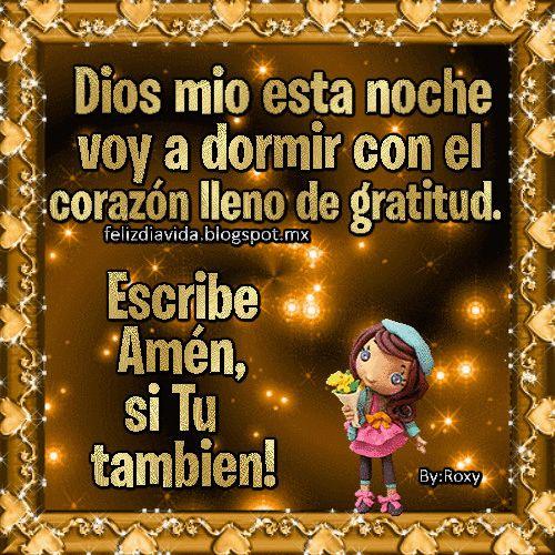FELIZ DÍA A LA VIDA: Dios mio (Ver más)