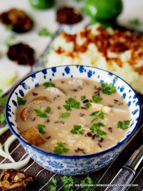 Smaczna Pyza Zurek Grzybowy Culinary Recipes Food Cooking