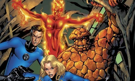 Fantastic Four Cast Marvel Comics In 2020 Fantastic Four Comics Fantastic Four Cast Fantastic Four Movie