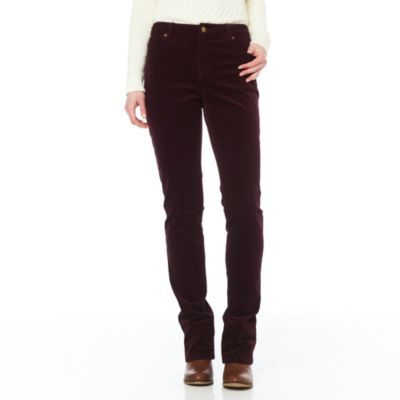 JESSICA®/MD Women's 'Modern Fit' Stretch Corduroy Pant - Sears ...