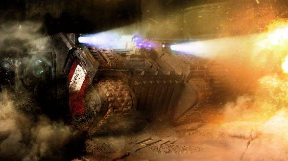 "laboratorium-ix: ""Flamestorm Incinerators Redux by ARKURION """