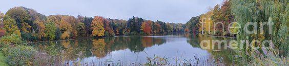 Durand Lake Autumn Panorama