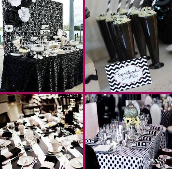preto e branco: