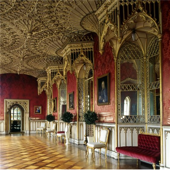 horace walpole 39 s gothic revival strawberry hill 1749