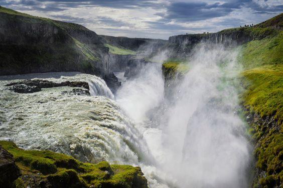 Cascada Dorada, Islandia - Los enclaves naturales más alucinantes de Europa