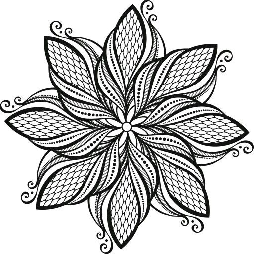 Mandalas coloration and coloriage on pinterest - Jeux anti stress gratuit ...